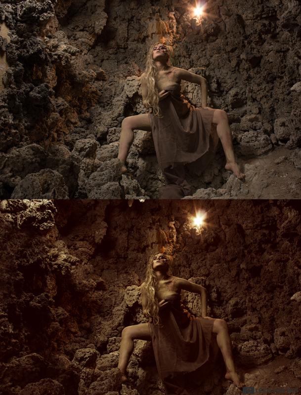 Vorhher-Nachher-grotte