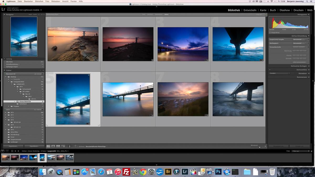 Bildbearbeitung Lightroom lernen