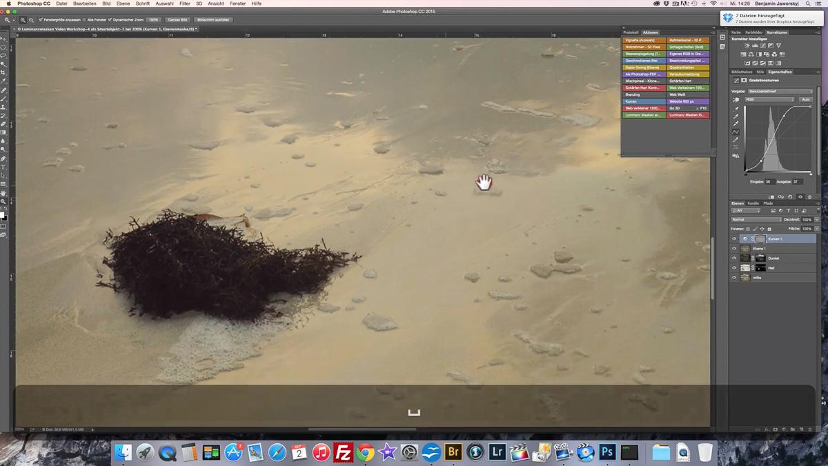Bildbearbeitung Photoshop lernen