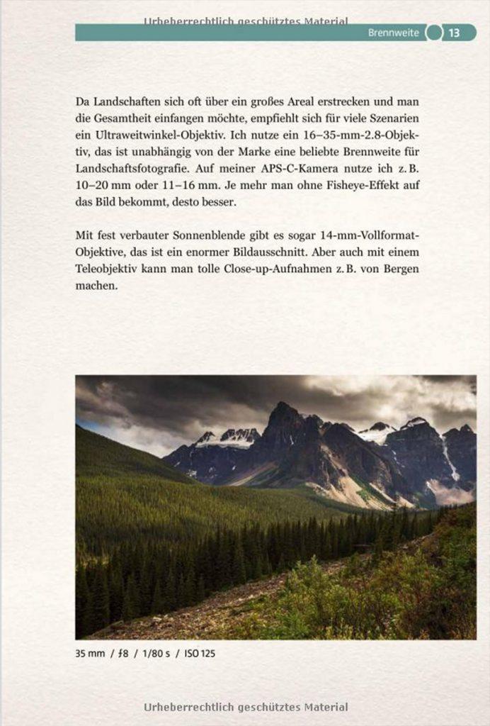 Abenteuer Landschaftsfotografie Buch