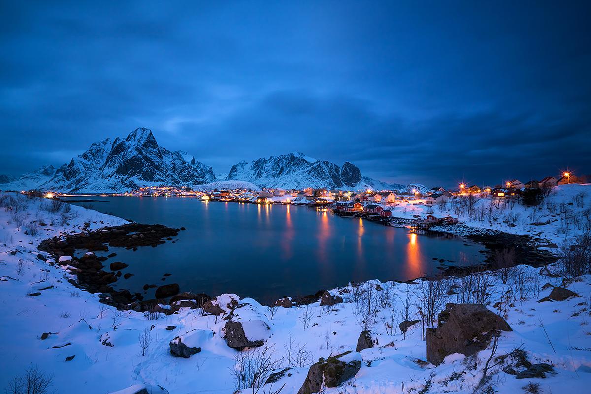 Benjamin Jaworskyj Fotoreise Norwegen Lofoten Reine