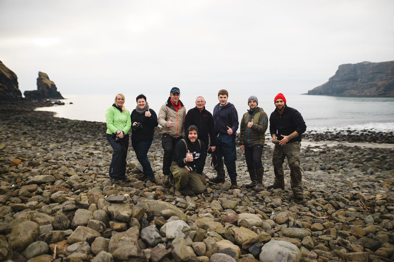 Benjamin Jaworskyj Fotoreise Schottland Isle Of Skye Talisker Bay