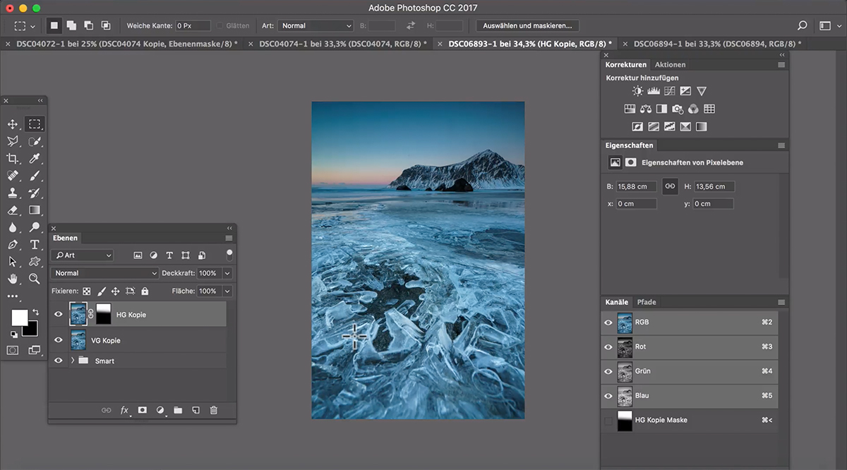 Benjamin Jaworskyj Landschaftsfotos mit Photoshop bearbeiten lernen
