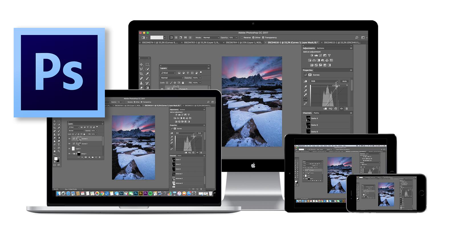 Benjamin Jaworskyj Videokurs Landschaftsfotos mit Photoshop bearbeiten lernen