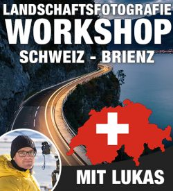 Landschaftsfotografie Workshop Schweiz Brienz Lukas Voegelin