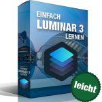 Einfach Luminar 3 lernen Produktbox badge