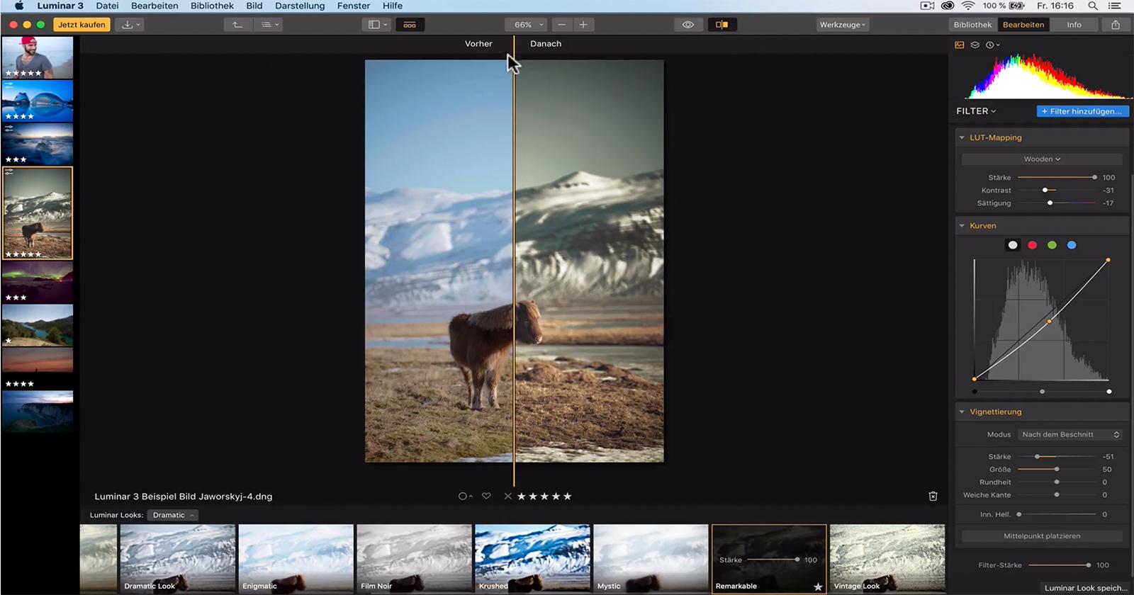 Grundlagen Bildbearbeitung Luminar 3 Kurs fuer Anfaenger