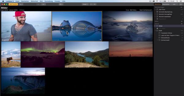 Grundlagen Bildbearbeitung Luminar 3 Kurs Benjamin Jaworskyj