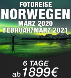 Abenteuer Fotoreise Norwegen MENUE
