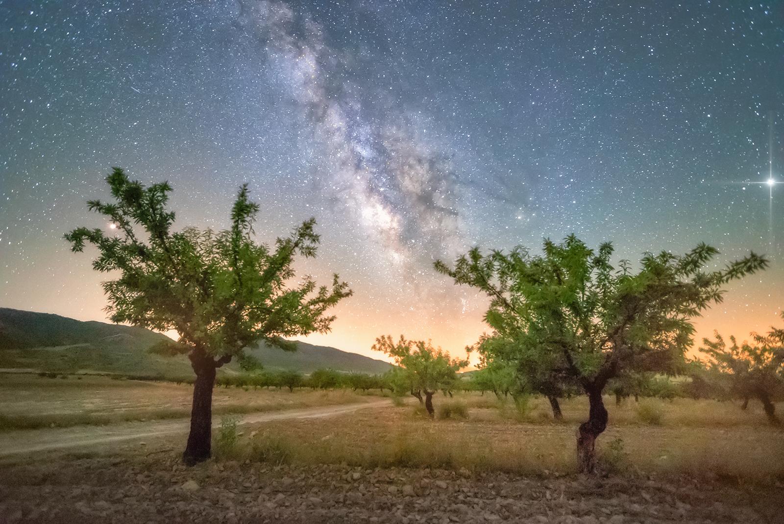 Milchstraße fotografieren und bearbeiten lernen