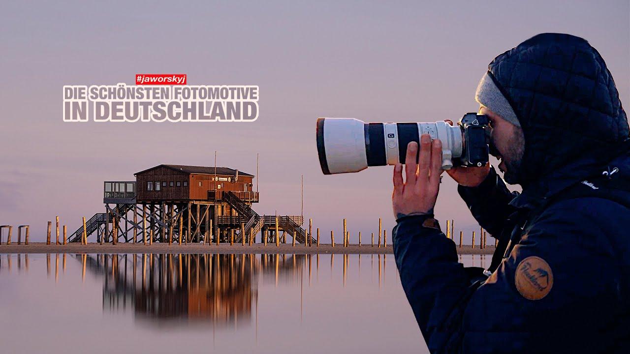Fotomotive Deutschland Pfahlbauten St. Peter Ording Schleswig-Holstein